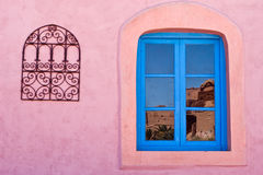 Morocco design windows Royalty Free Stock Photo