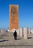 morocco Det moskéHassan XII århundradet Arkivbild