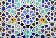 Morocco, detail of fountain, Rabat Royalty Free Stock Photo