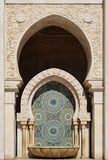 Morocco. Detail of Hassan II Mosque in Casablanca Royalty Free Stock Images