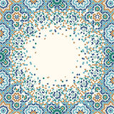 Morocco Disintegration Background Royalty Free Stock Images