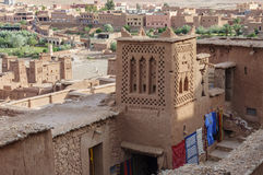Morocco, Draa Valley, Kasbah Stock Images
