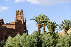 Morocco, Draa Valley, Kasbah Stock Image