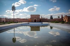 Morocco. El Badii Palace Stock Photo