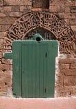 Morocco, El Jadida, ancient mosque door Royalty Free Stock Images