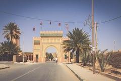 Morocco, Erfoud, Desert Gate Royalty Free Stock Images