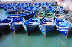 Morocco, Essaouira: boats Royalty Free Stock Image