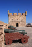 Morocco Essaouira fort battlement Royalty Free Stock Images