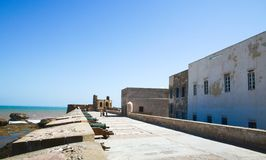 Morocco, Essaouira, fortress Royalty Free Stock Photography