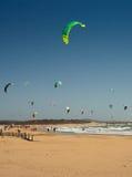 Morocco Essaouira Windsuf Beach Stock Photography