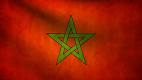 Morocco flag Stock Photo