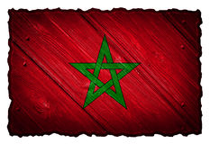 Morocco flag Stock Images