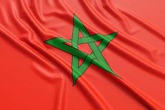 Morocco flag Stock Photos