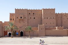 Morocco fortified city Stock Photography