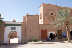 Morocco fortified city Stock Photo
