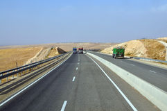 Morocco highway Royalty Free Stock Image