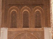 morocco i den Marrakech africa citien arkivbild