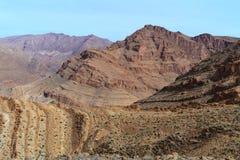 morocco Kartbokberg Fotografering för Bildbyråer