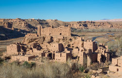 Morocco Kasbah Royalty Free Stock Photo