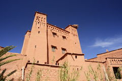 Morocco. Kasbah Ait Ben Haddou Royalty Free Stock Photography