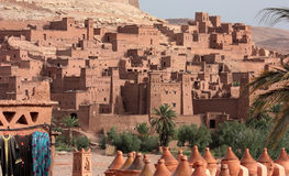 Morocco -  Kasbah of Ait Benhaddou Stock Photos
