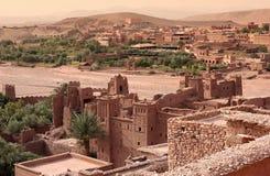 Morocco -  Kasbah of Ait Benhaddou Stock Photography