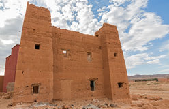 Morocco Kasbah wide angle Stock Photography