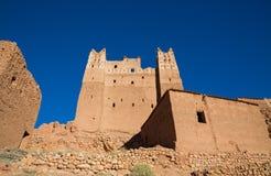 Morocco Kasbah wide angle Royalty Free Stock Image