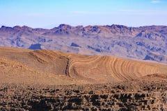 Morocco Landsacpe. Panoramic view  in Atlas mountain Morocco Stock Photography