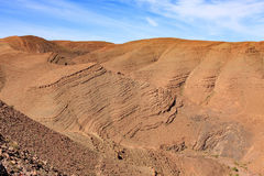 Morocco Landsacpe. Panoramic view  in Atlas mountain Morocco Royalty Free Stock Image
