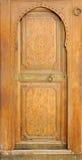 Morocco, Marrakech: Bahia Palace Marrakech. Morocco, Marrakech:wood painting door at the Bahia Palace Marrakech stock image