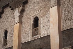 Morocco Marrakesh Ali Ben Youssef Medersa Islamic Stock Photos