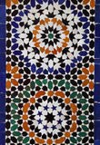 Morocco Marrakesh Arabesque wall tiles Stock Photos