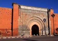 Morocco Marrakesh Bab Agnaou Medina gate Royalty Free Stock Images