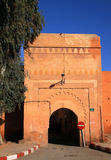 Morocco Marrakesh Bab Ksiba gate Stock Image