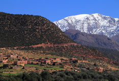 Toubkal National Park Morocco Stock Images