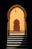 Morocco, Meknes, Islamic arches Stock Images