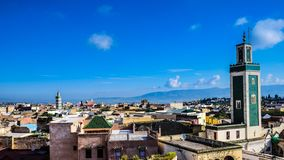 Morocco Meknes Skyline royalty free stock photography
