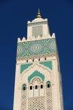 Morocco. Minaret of Hassan II Mosque in Casablanca Stock Image