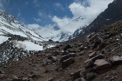 Morocco, Mountain of Toubkal Royalty Free Stock Photography