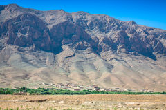 Morocco Mountains in the desert Africa Royalty Free Stock Photo