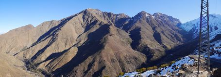 Morocco mountains panorama Royalty Free Stock Photography
