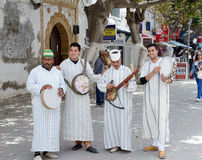 Morocco musicians Royalty Free Stock Photography