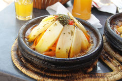 Morocco national dish - tajine Stock Images