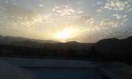 Morocco. Nice morninge at Tafraout Morocco stock image