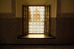 morocco otwarte okno zdjęcia stock