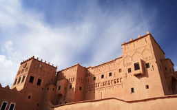 Morocco, Ouarzazate. The Kasbah Taourirt Stock Image