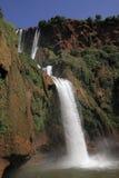 morocco ouzoudvattenfall Royaltyfri Bild