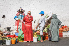 Morocco people Stock Image