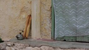 A Pauper Life. In Morocco a Poor Life stock video footage